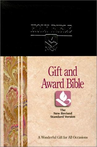 9780529068224: NRSV Gift and Award Bible