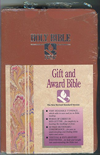 9780529068231: Holy Bible New Revised Standard Version/Gift and Award/Rs41dr/Dusty Rose Imitation Leather