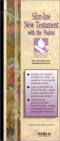 NRSV Slimline New Testament (with Psalms): Thomas Nelson