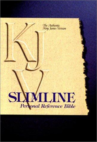 9780529068965: KJV Slimline Personal Reference Bible