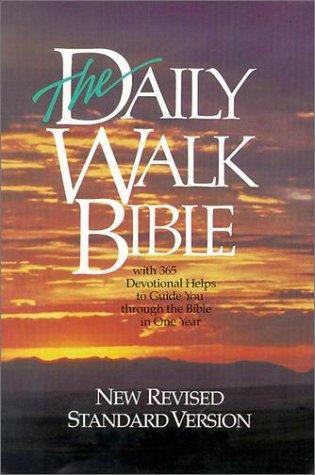 9780529072597: Daily Walk Bible