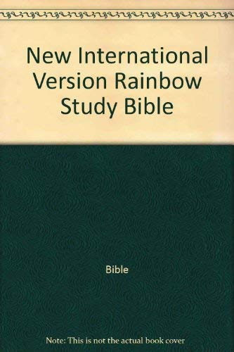 9780529073198: New International Version Rainbow Study Bible