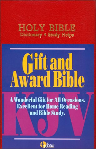 9780529076519: KJV Gift and Award Bible