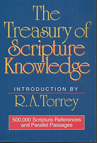 9780529076670: The Treasury of Scripture Knowledge