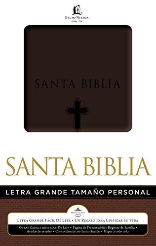 9780529100498: Biblia Letra Grande Tamano Personal-Rvr 1960