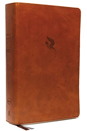 9780529100542: NKJV, Spirit-Filled Life Bible, Third Edition, Imitation Leather, Brown, Indexed, Red Letter Edition, Comfort Print: Kingdom Equipping Through the Power of the Word