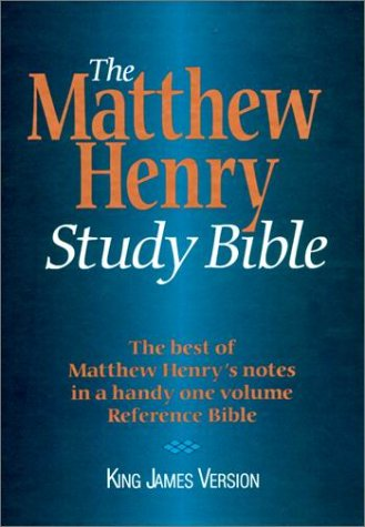 9780529102577: KJV - Matthew Henry Study Bible
