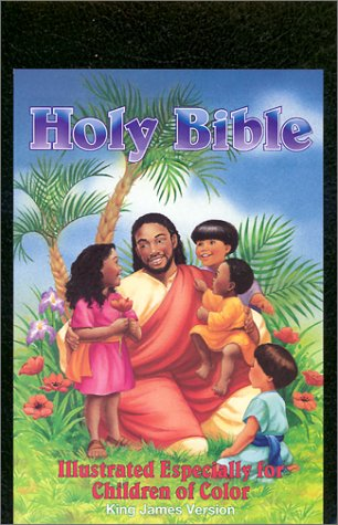 Holy Bible- Illustrated Especially for Children of Color: World Bible