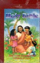 Children of Color Holy Bible KJV Burgundy Imitation Leather: Bible, World