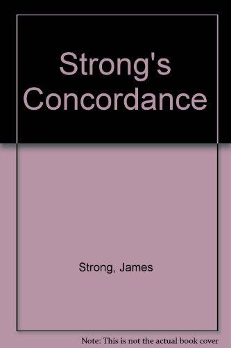9780529104595: Strong's Concordance