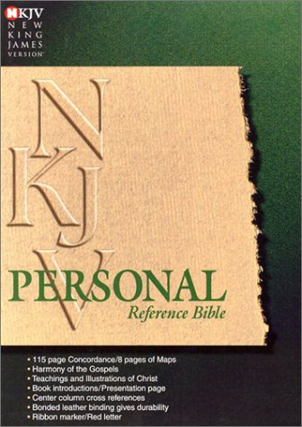 9780529106049: Personal Reference Bible: New King James Version