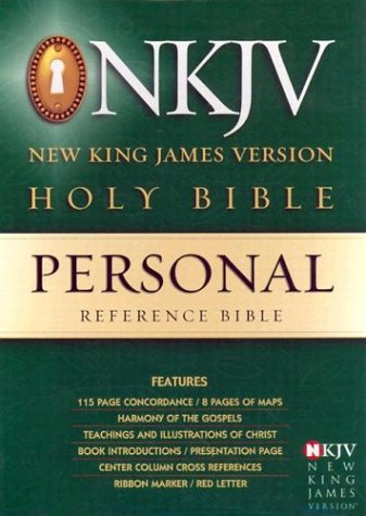 9780529106087: Personal Reference Bible: New King James Version