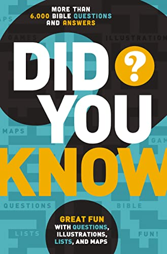 9780529106445: Did You Know?: More Than 6,000 Bible Questions and Answers