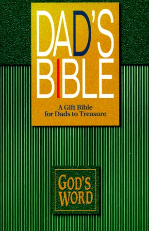 9780529107336: Dad's Bible: God's Word / Hunter Green Imitation Leather (God's Word Series)