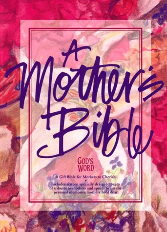 A Mother's Bible: God's Word / Royal Purple Imitation Learhter