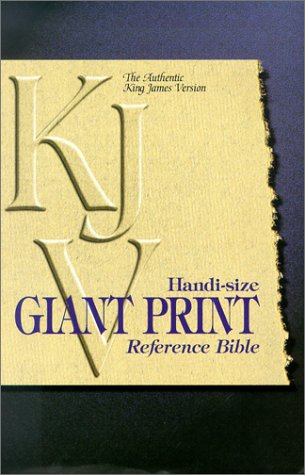 9780529107794: KJV Handi-Size Giant Print Reference Bible