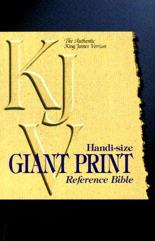 9780529107817: KJV Handi-Size Giant Print Reference Bible