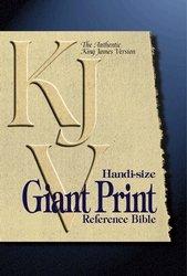 9780529107824: KJV Handi-Size Giant Print Reference Bible