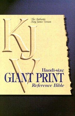 9780529107855: KJV Handi-Size Giant Print Reference Bible