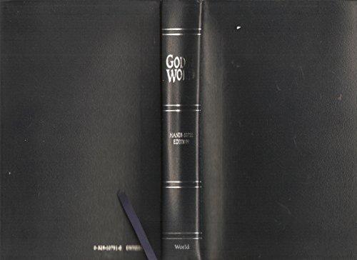 9780529107916: God's Word: Handi-Size Edition Blue Bonded Leather