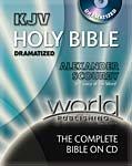 9780529108081: King James Version Alexander Scourby Bible Dramatized: 62 CDs with Black Nylon Zipper Pack