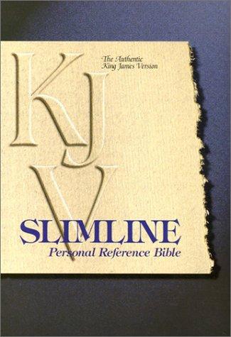 9780529109057: KJV Slimline Personal Reference Bible