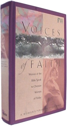 9780529109163: Voices of Faith: Woman's Personal Study Bible / God's Word (God's Word Series)