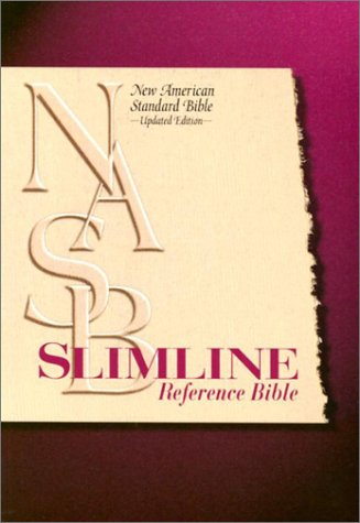 9780529109576: NASB Slimline Reference Bible