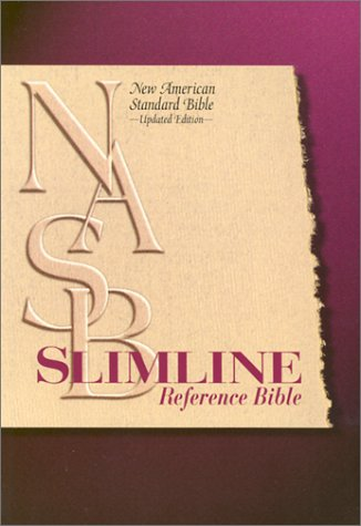 9780529109590: NASB Slimline Reference Bible