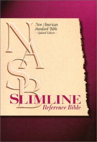 9780529109620: Slimline Reference Bible: New American Standard Update / Blue Bonded Leather