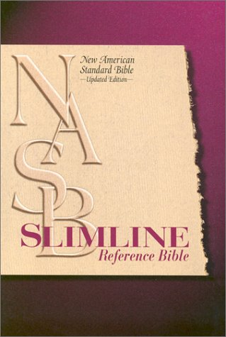 9780529109637: Slimline Reference Bible: New American Standard Update / Burgundy Leather