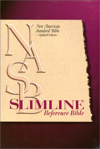 9780529109644: NASB Slimline Reference Bible