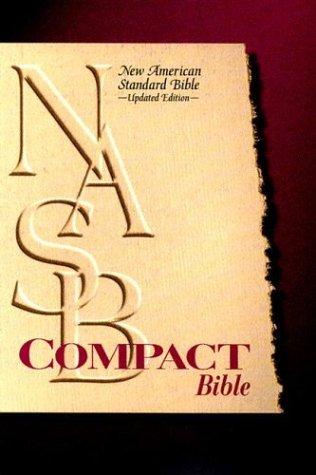 Compact Text Bible-NASB-Snap Flap