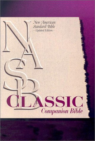 9780529110602: Classic Companion Bible: New American Standard Update / Black Bonded Leather