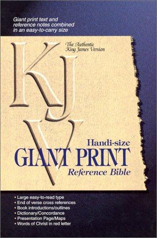 9780529110794: Handi-Size Giant Print Reference Bible