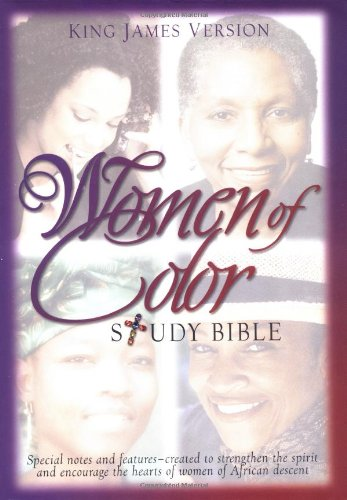 9780529110985: Women of Color Study Bible: King James Version, Black Bonded Leather