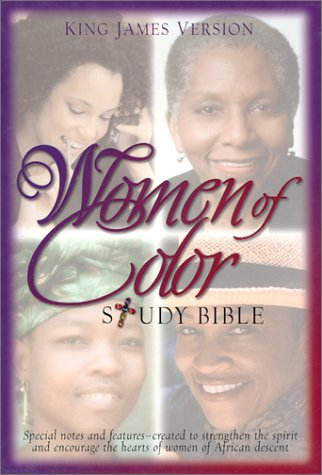 9780529110992: Women of Color Study Bible: King James Version / Black Bonded Leather