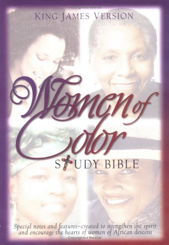 9780529111258: Women of Color Study Bible: King James Version/Burgundy Bonded Leather