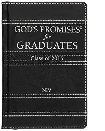 9780529111289: God's Promises for Graduates: 2015 - Black: New International Version