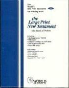 KJV Large Print New Testament (with Psalms): Thomas Nelson