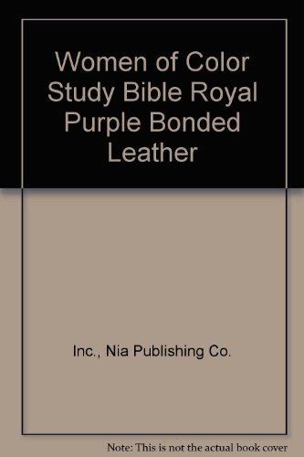 9780529112804: Women of Color Study Bible Royal Purple Bonded Leather