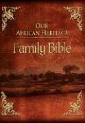 9780529120465: KJV Our African Heritage Family Bible, Deluxe Burgundy