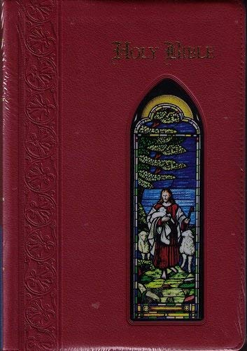 Giant Print Reference Bible: King James Version, World's Visual Reference System, Cranberry ...
