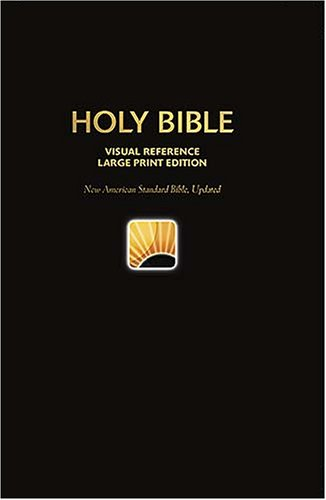 NASB World's Visual Reference Bible: Large Print Edition (0529122162) by Thomas Nelson