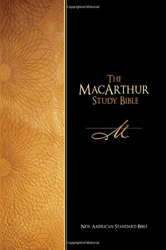 9780529122506: The Macarthur Study Bible: New American Standard Bible