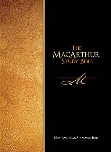 9780529122537: The Macarthur Study Bible: New American Standard Bible, Burgundy Bonded Leather