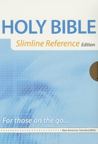 9780529123275: Holy Bible: New American Standard Bible, Tan/ Brown Leathersoft, Slimline Reference