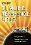 9780529123282: Slimline Reference Bible: New American Standard Bible, Burgundy Bonded Leather