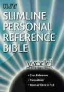 KJV Slimline Personal Reference Bible (0529123878) by World Publishing