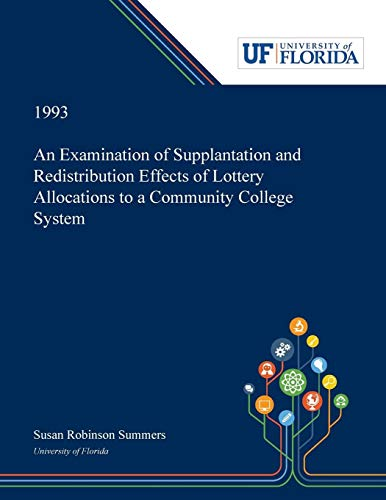 An Examination of Supplantation and Redistribution Effects: Susan Summers